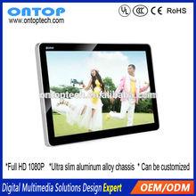 screen full hd 1080p 15/17/19/22/24/26/32/37/42 Inch transparent lcd/led screen usb car video player