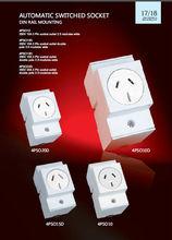 Australia convenient automatic switched socket surface mount socket QUICK CONNECT