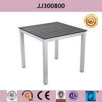 Outdoor table powder coated aluminum & polywood JJ300800