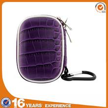 Biru Gear Purple Small Carrying Storage Compact MP3 Player eva case with handsfree