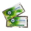 Peróxido de cero tiras blanqueadoras 14 sobres, profunda de limpieza limpie los dientes