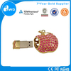 2014 hot selling Valentine Day GIFT crystal heart jewelry usb vatop usb flash drive.