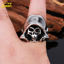 2014 China factory direct sales fashion skull jewelry ring mold