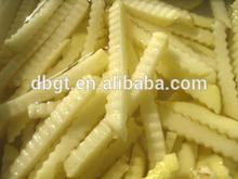 Frozen frit pommes de terre avec le prix concurrentiel / pommes de terre de stockage à froid