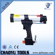 Professional air caulking gun with pneumatic silicone sealant empty cartridge