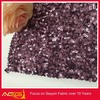 The hot sale top 100 design 100% polyester luxurious beautiful fascinating natural sequin fabric batik dress materials