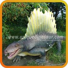 Theme Park Vivid Handmade Fiberglass Dinosaur Statue