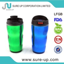 2014 popular football/basketball shaped plastic water cup for sales promotion (MPUO)