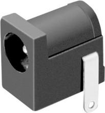 PCB mount 5.5mm center 2 pin DC power jack power connectors