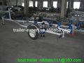 De acero galvanizado de chorro de remolque del barco jetskis/motos agua solo con remolque de rodillos