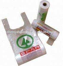 pe transparent plastic shipping bag