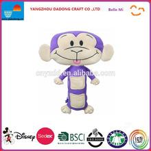 Seat Pets Purple/Tan Monkey Car Seat Toy Baby, NewBorn, Children, Kid, Infant