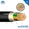 Ac cabo de aterramento verde amarelo, gray, vermelho, cor preta 300/500v 450/750v 5 núcleo 70mm2 50mm2 fio flexível