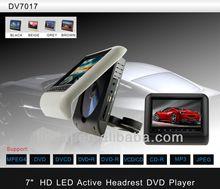 7 Inch Detachable Panel Car Headrest Dvd