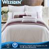 white Guangzhou 100% cotton round crib bedding