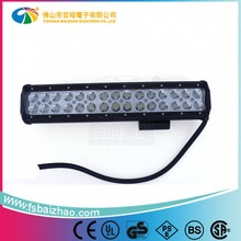 """15"""" 90W Flood & Spot Combo Beam Dual Row 4x4 racing off road led light bar for Offroad 4WD Boat SUV Driving Lamp"""