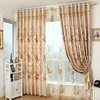 2014 lembroidered sheer curtain fabric