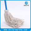 Traditional Cotton Deck Mop with wood handle