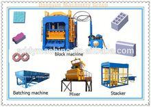 Small investment big profit concrete mesin harga batako machine
