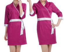 Summer Work Wear Women Health Spa Uniforms Custom Japanese Spa Uniforms