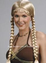 long fashionable braided hair wigs