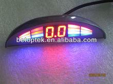 Digital color display , led parking sensor system car reverse backup radar(BE-760-OEM-A)