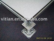 Anti-static steel raised floor with HPL
