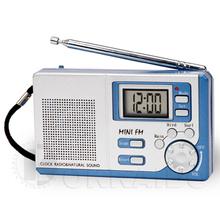 Natural sound alarm clock radio