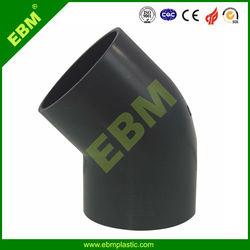 EBM Brand Manufacturer Quality SCH40 SCH80 PVC Pipe Fitting 45 Degree Elbow (EPY001B)