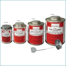 clear cleaner for CPVC/PVC/ABS