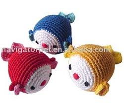 Pet Crochet Toy,Pet Fish Toy