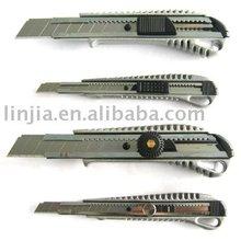 utility knife, hand tools, aluminum , zinc-alloy cutter knife LJ-2035