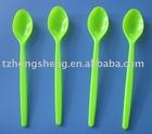 Plastic colored spoon