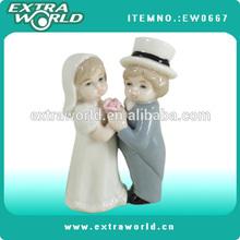Popular porcelain wedding dolls decor