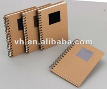 2012 New design spiral notebook with photo frame