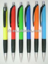 2013 hot sale plastic click ball pen