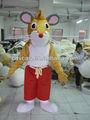 2014 maßgeschneiderte gemacht maskottchen kostüme maus/superweichen plüsch Ratte maus maskottchen cosume