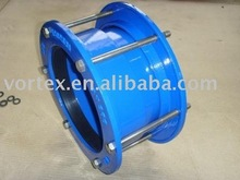 Ductile iron wide range Stepped coupling