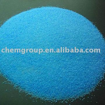 Granular 20-- 80 malla de sulfato de cobre 98.3%