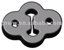 muffler suspender rubber shock absorber