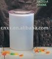Vasilha com tampa de plástico