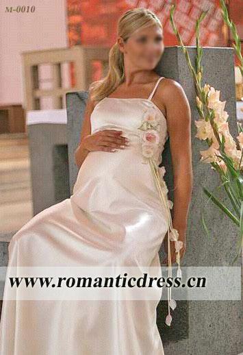 wedding dresses for pregnant women(M-0010)