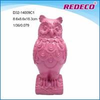 Resin decorative owl sculpture