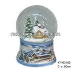 Resin water glass globe