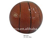 Ceramic basketball money bank