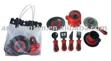 juguete del cookware, sistema del juguete de la cocina, juguete plástico
