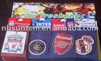 Car Air Fresheners/Football Club Air Fresheners