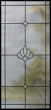 decorative glass panel