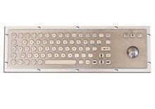 industrial/kiosk Metal Keyboard with Trackball