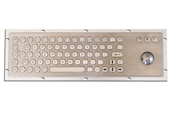 industrial/kiosk Metal Keyboard with Trackball